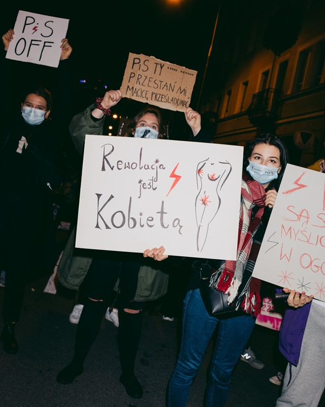 Poland abortion law protests 16