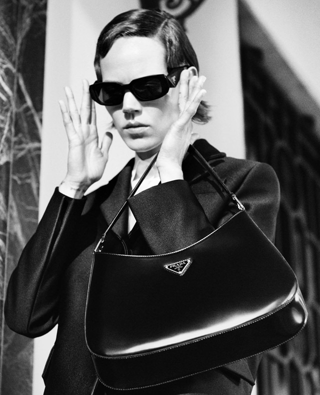 Prada revealed its holiday campaign