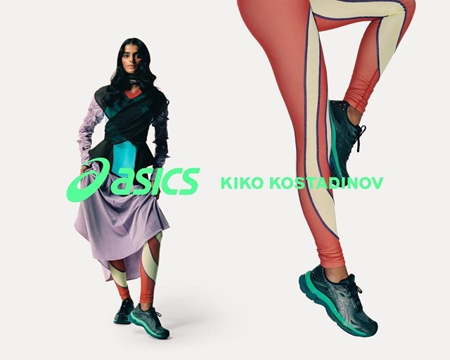 Kiko Kostadinov dropped its final Asics sneaker