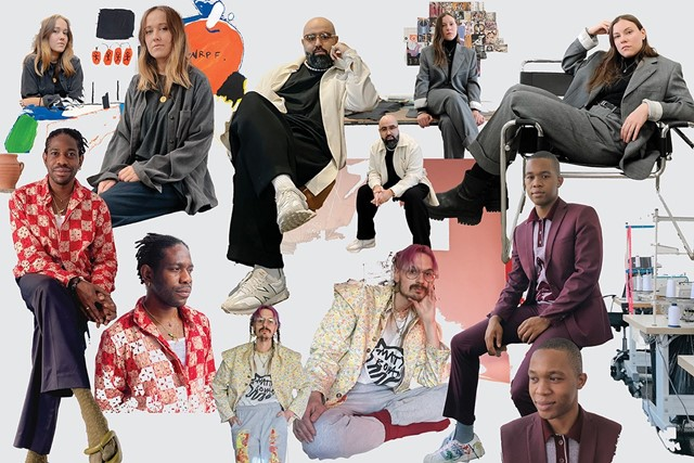 Thebe Magugu and Matty Bovan are up for a Woolmark Award