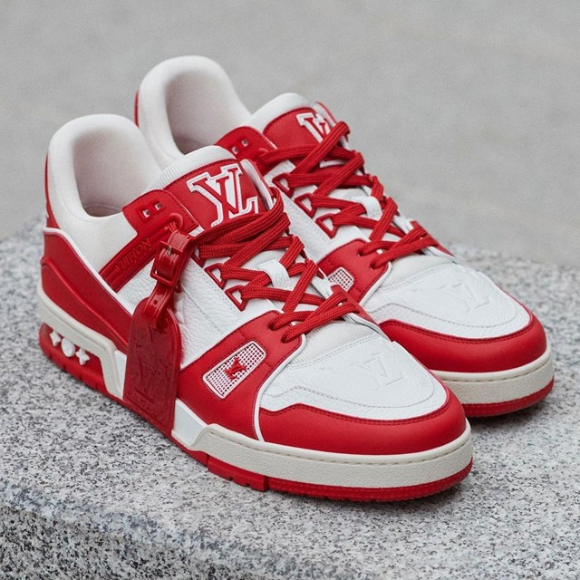 Louis Vuitton released a sneaker for charity