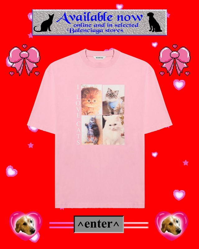 I LOVE PETS BALENCIAGA collection