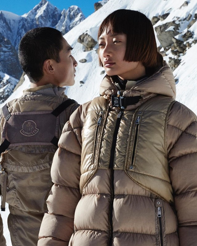 ...and so did his collab with Moncler