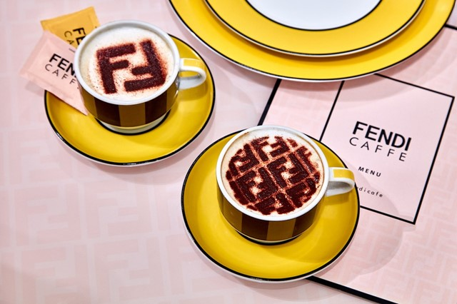 Fendi opened a festive Insta-worthy cafe
