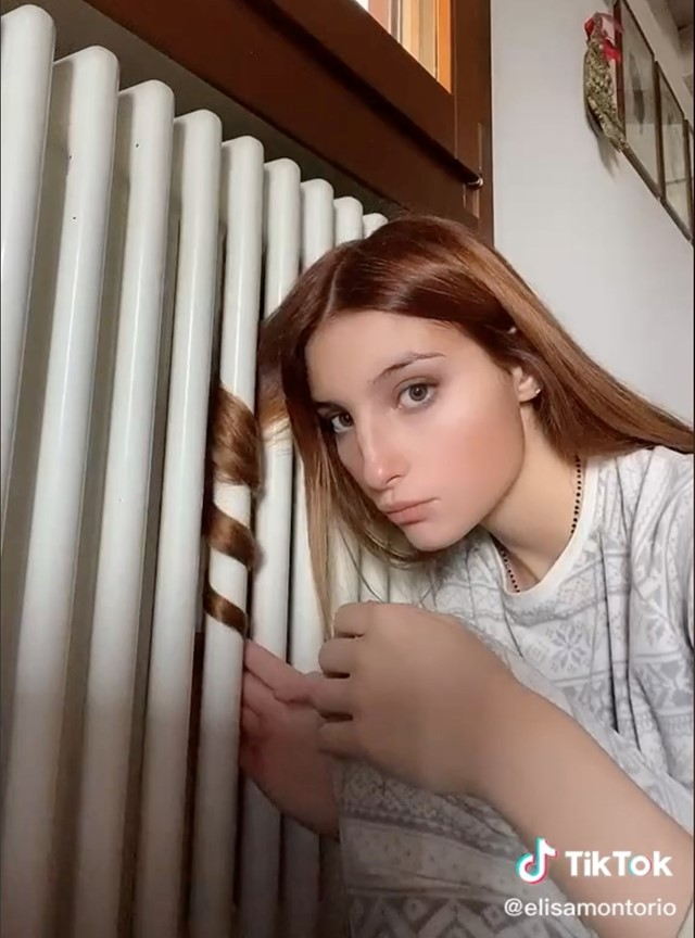Tiktok Hair Trend Radiator Italy Teens