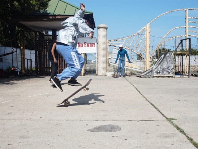 Daily Paper and Off-White created Ghana's first skatepark