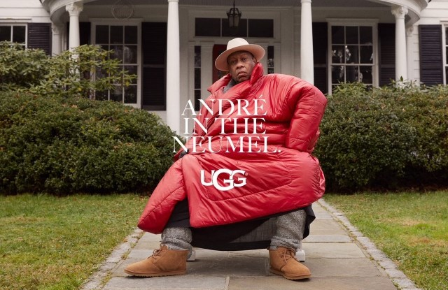 Andre Leon Talley Ugg campaign