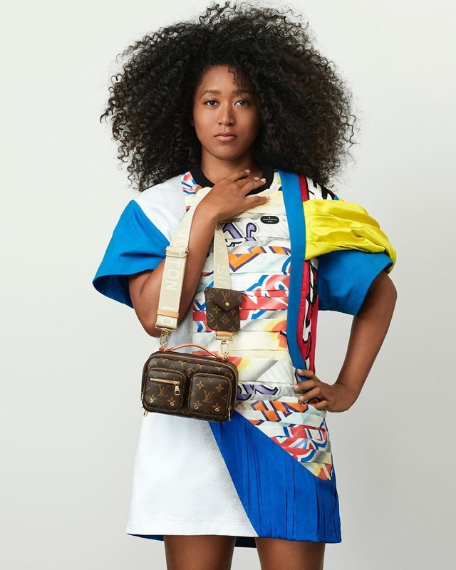 Tennis player Naomi Osaka is the new face of LV