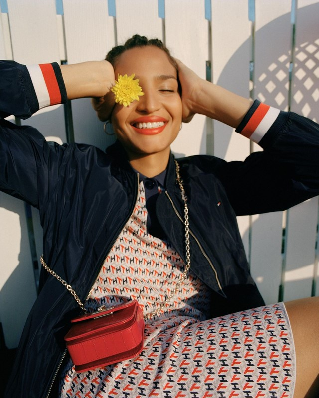 Indya Moore is the star of Tommy Hilfiger's latest campaign