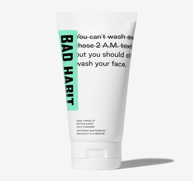Bad Habit – Wake Things Up Matcha & Mint Daily Cleanser