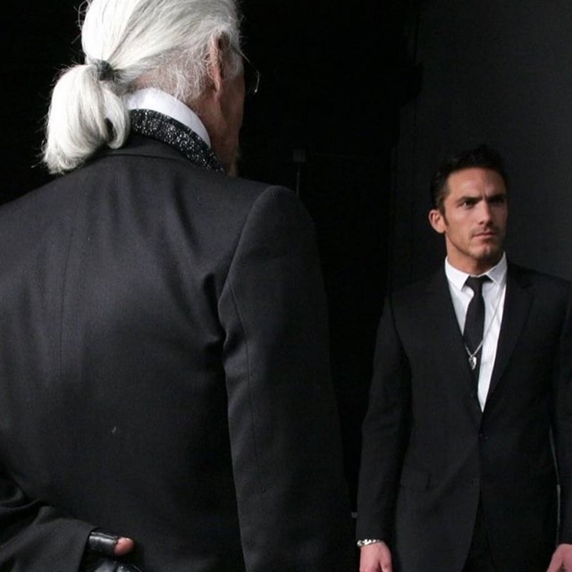 Karl Lagerfeld's bodyguard announced a new book