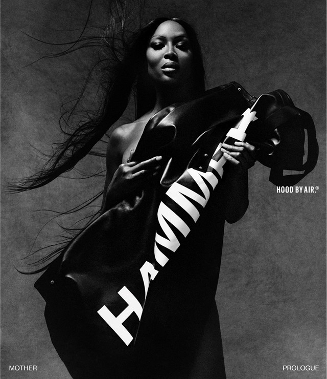 Hood By Air Naomi Campbell