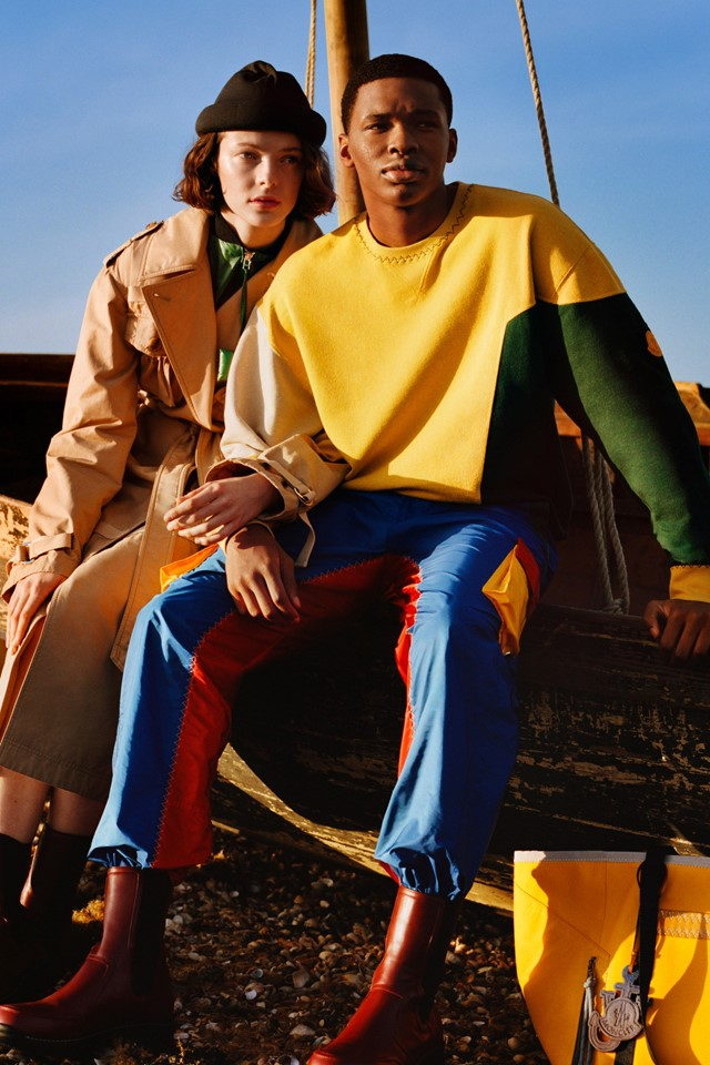 Moncler and JW Anderson have united again on a Genius collab