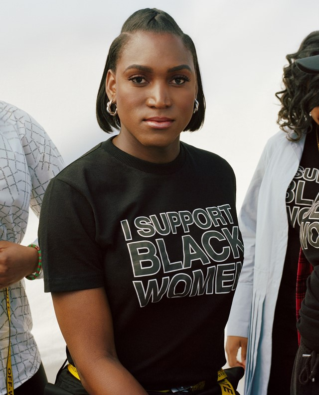 I Support Black Women by Trinice McNally and Off-White