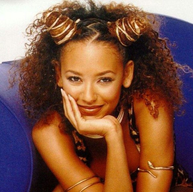 Mel B from the Spice Girls