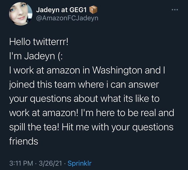 Amazon Jadeyn
