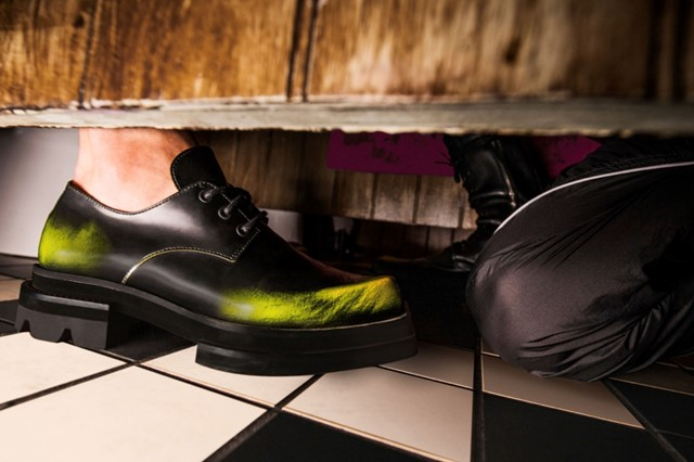 ...WHILE JORDANLUCA TOOK ITS FIRST STEPS INTO FOOTWEAR