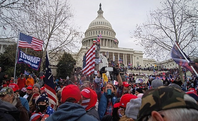 2021 storming of the US Capitol