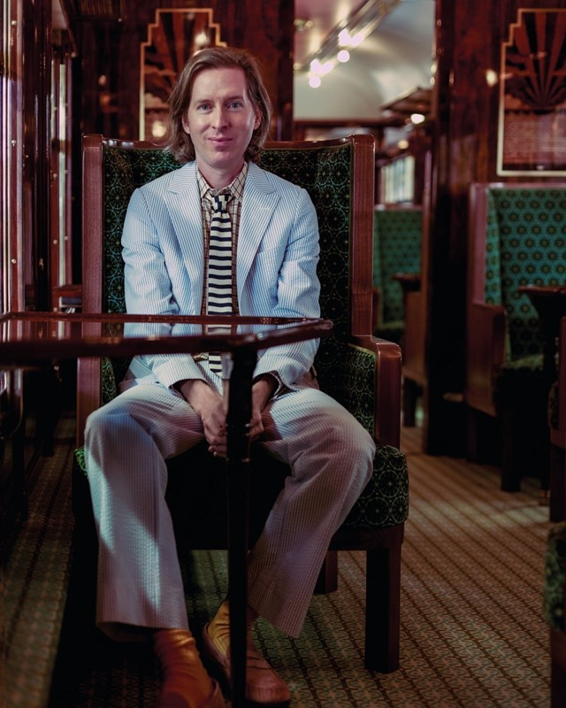 Wes Anderson's train