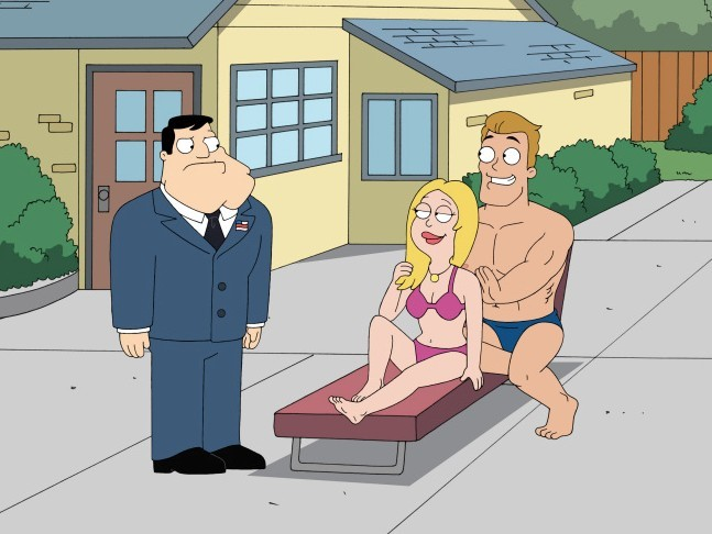 """American Dad """"Wife Insurance"""" ep"""