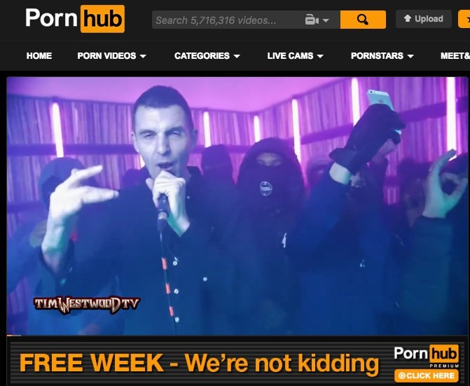 UK drill pornhub Tim Westwood