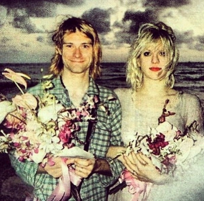 Courtney Love Shares Touching Kurt Cobain Tribute