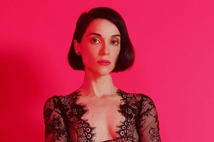St. Vincent teases her new album with Daddy's Home poster campaign