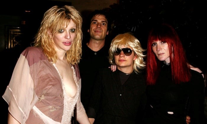 Courtney Love with Knoop as JT Leroy and Laura Albert