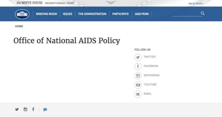 Trump aids policy
