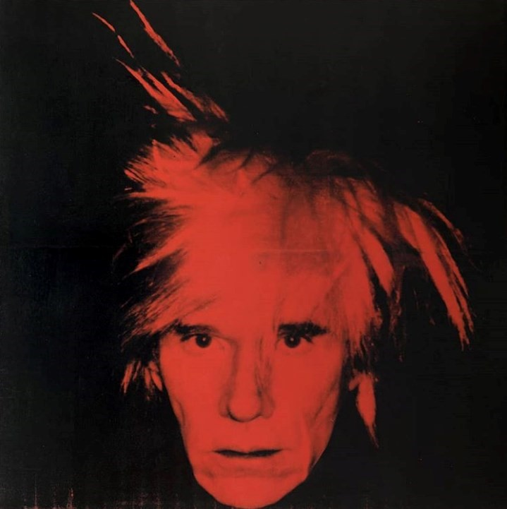 "Warhol, ""Self-Portrait"" (1986)"
