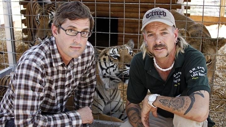 Louis Theroux and Tiger King's Joe Exotic