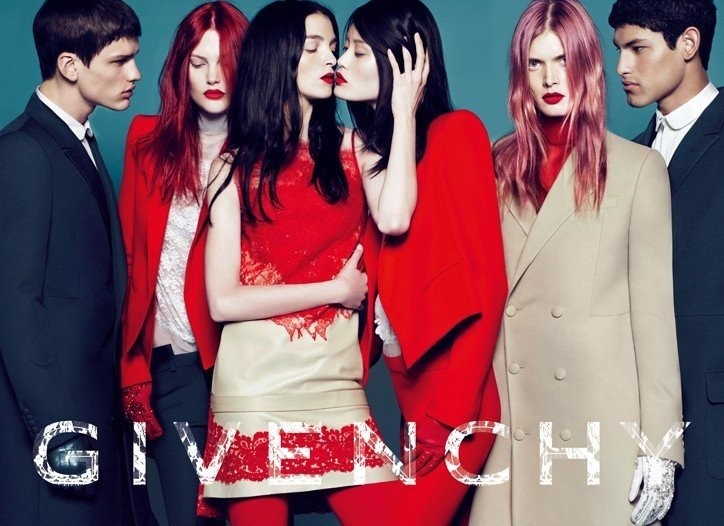 Givenchy autumn/winter 2010 campaign