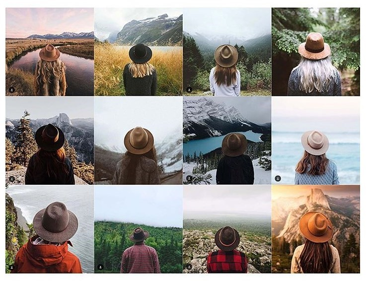 Insta Repeat instagram repetitive outdoors explorer cliches