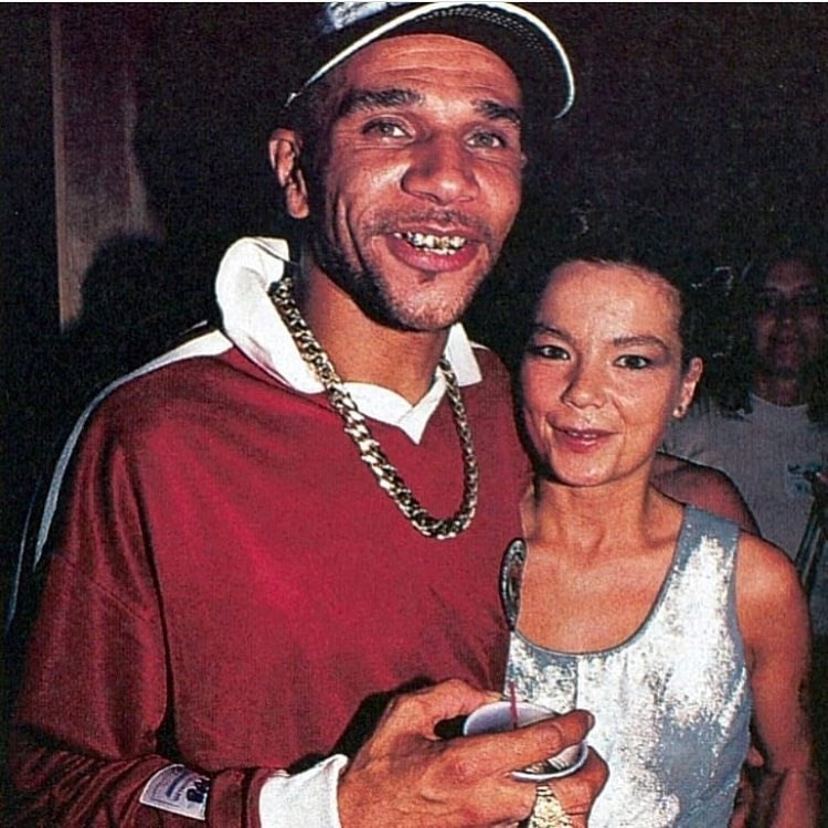 hot couples style bjork and goldie