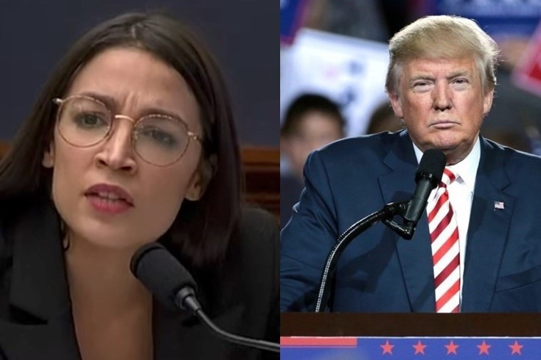 AOC points out the hypocrisy of Trump's $70,000 hairstyling spend