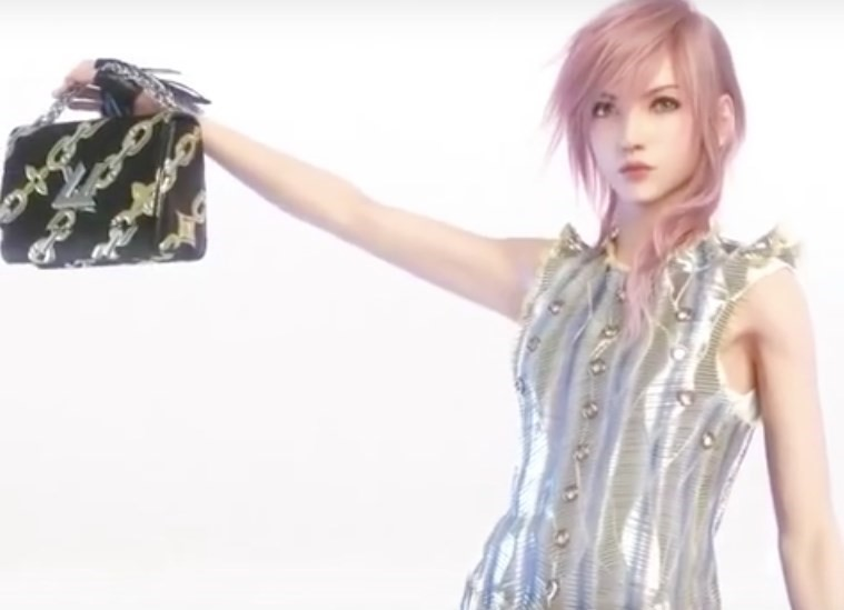 Louis Vuitton SS16 campaign, Lightning, Final Fantasy XIII