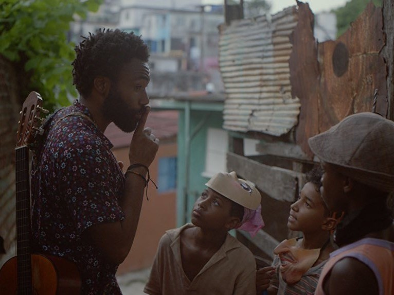 Still from Donald Glover's Guava Island