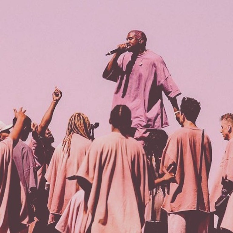 Kanye West Coachella 2019 Sunday Service cult