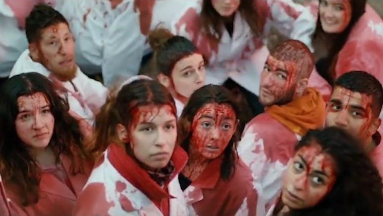 Glimpse the female cannibal movie everyone's talking about