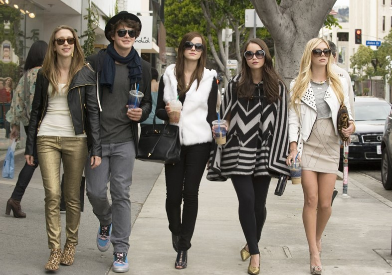 Bling Ring costume design