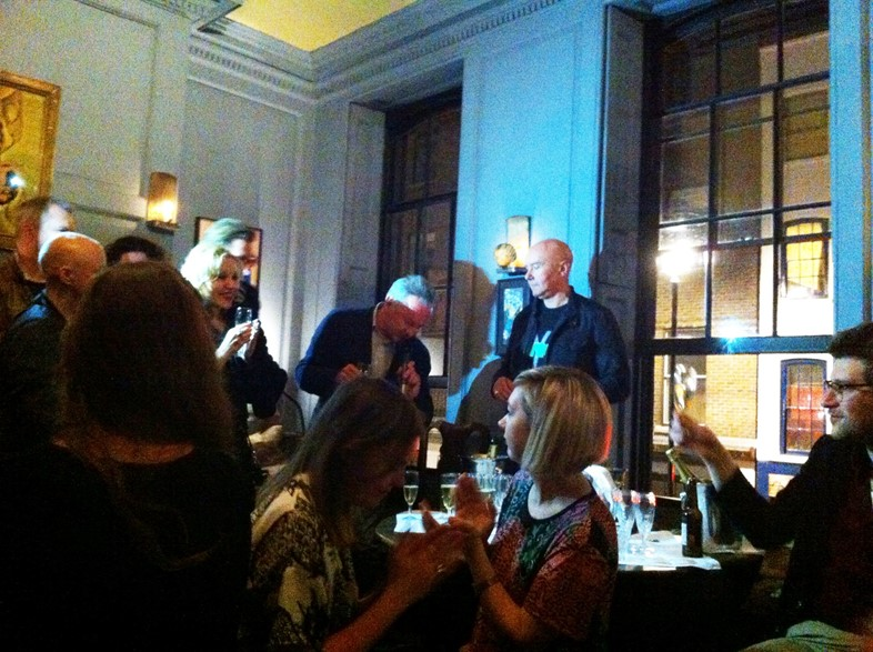 The Irvine Welsh after party