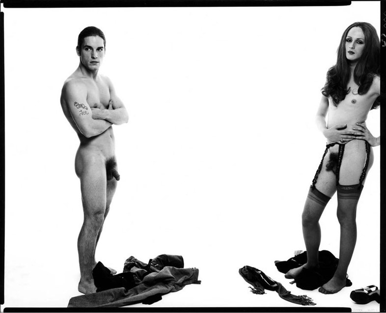 Joe Dallesandro Candy Darling Richard Avedon 1969