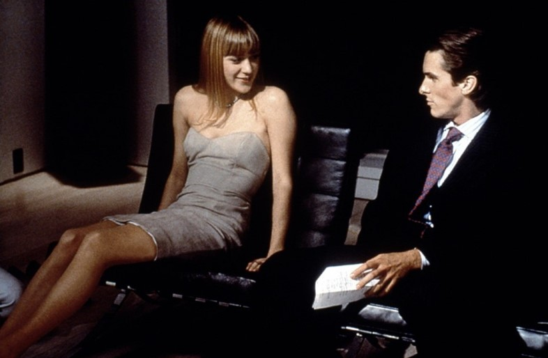 Chloe Sevigny and Christian Bale, American Psycho,