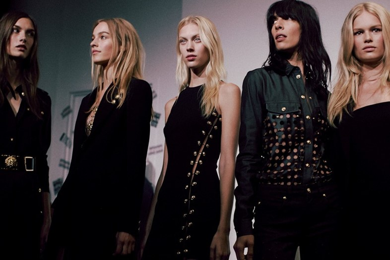Versus Versace X Anthony Vaccarello SS15 Dazed