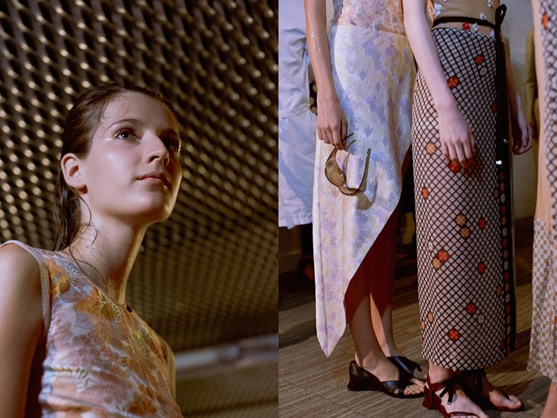 Maison Martin Margiela SS15 Dazed exclusive backstage