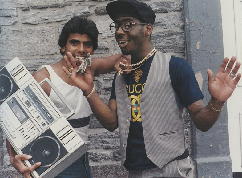 Back in the Days, photo by Jamel Shabazz