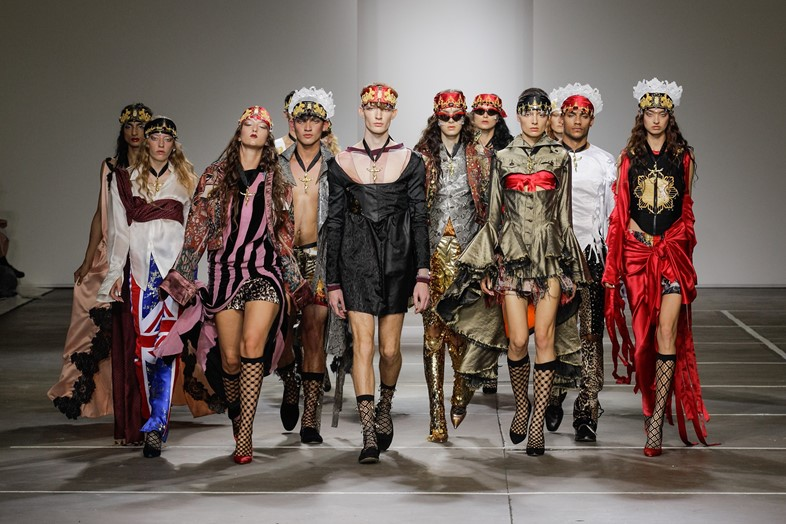 Ed Marler Fashion East SS15 Finale high res