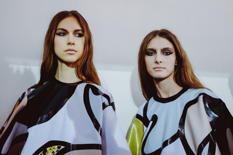 Central Saint Martins MA, AW15, Beth Postle, PVC, Abstract