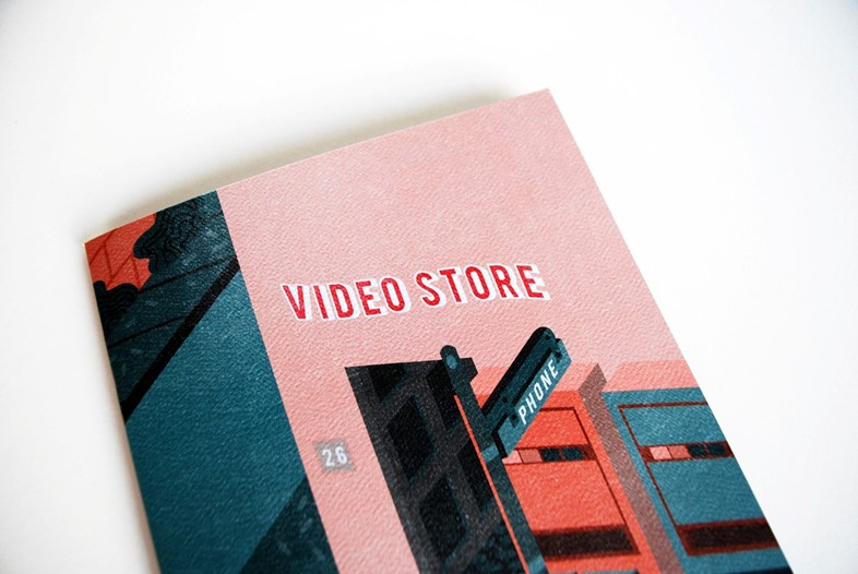 Video Store by Thomas Howes