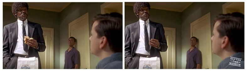 Samuel L Jackson in Pulp Fiction